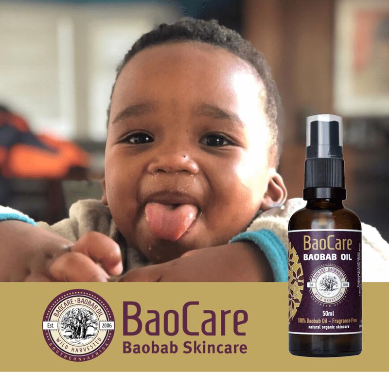 Baobab Oil for Toddler Hair